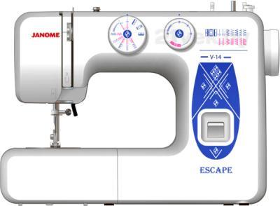 Швейная машина Janome V-14 - общий вид