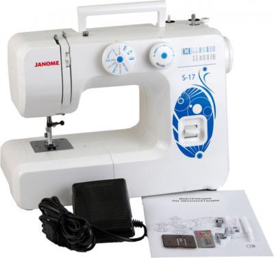 Швейная машина Janome S-17 - комплектация