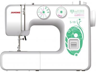 Швейная машина Janome S-19 - общий вид
