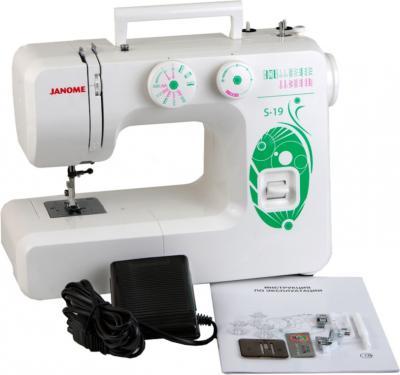Швейная машина Janome S-19 - комплектация