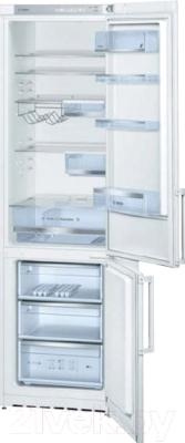 Холодильник с морозильником Bosch KGV39XW20R - общий вид