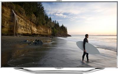 Телевизор Samsung UE55ES8000S - вид спереди