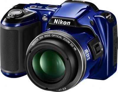 Компактный фотоаппарат Nikon COOLPIX L810 Blue - общий вид