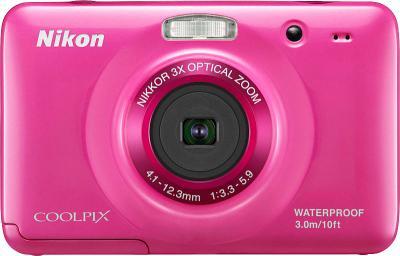 Компактный фотоаппарат Nikon COOLPIX S30 Pink - общий вид