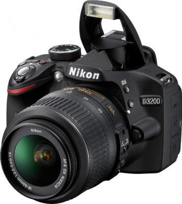Зеркальный фотоаппарат Nikon D3200 18-55mm VR - общий вид