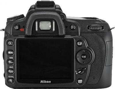 Зеркальный фотоаппарат Nikon D90 Kit 18-105mm VR - вид сзади