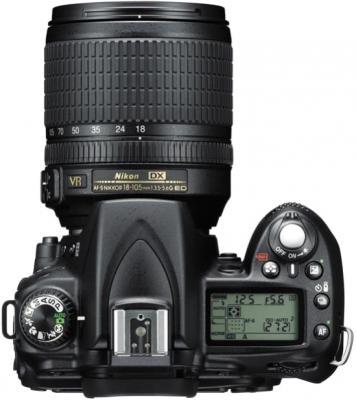 Зеркальный фотоаппарат Nikon D90 Kit 18-105mm VR - вид сверху