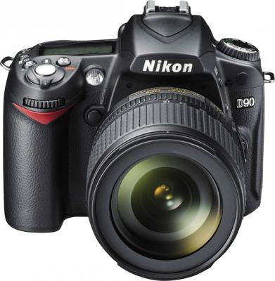 Зеркальный фотоаппарат Nikon D90 Kit 18-105mm VR - общий вид