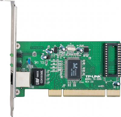 Сетевой адаптер TP-Link TG-3269 - общий вид