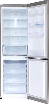 Холодильник с морозильником LG GA-B409SLQA - внутренний вид