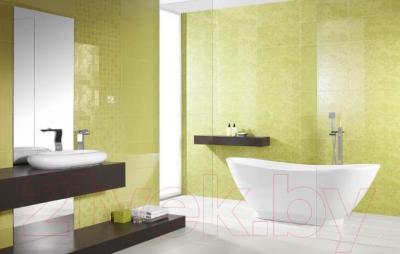 Декоративная плитка для ванной Ceramika Paradyz Tessita Zefir C (600x300)