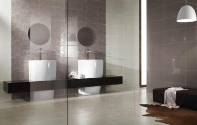 Плитка для пола ванной Ceramika Paradyz Tessita Tessito Bianco (333x333)