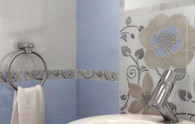 Декоративная плитка для ванной Ceramika Paradyz Tirani Blue B (333x250)
