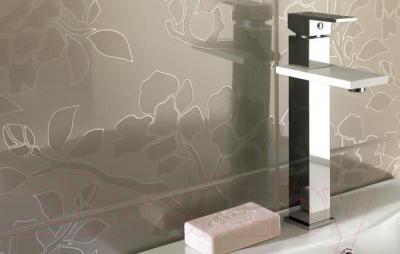 Декоративная плитка для ванной Ceramika Paradyz Tessita Bianco A (600x300)
