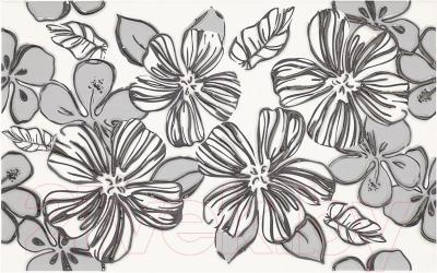Декоративная плитка для ванной Ceramika Paradyz Vivian Bianco Kwiat (400x250)