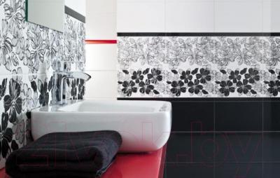 Плитка для стен ванной Ceramika Paradyz Vivian Nero (400x250)
