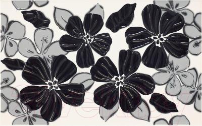Декоративная плитка Ceramika Paradyz Vivian Nero Kwiat (400x250)
