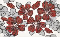 Декоративная плитка для ванной Ceramika Paradyz Vivian Rosa Kwiat (400x250) -