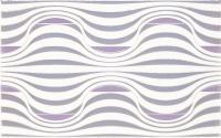 Декоративная плитка для ванной Ceramika Paradyz Vivian Viola Fala (400x250) -