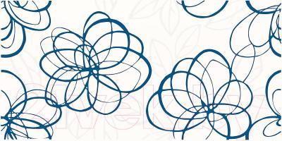 Декоративная плитка для ванной Ceramika Paradyz Vivida Blue (600x300)