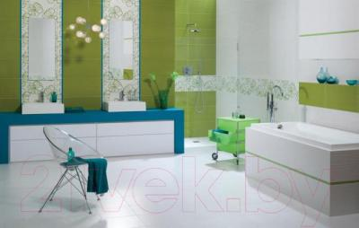 Плитка для стен ванной Ceramika Paradyz Vivida Verde Struktura (600x300)