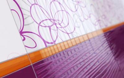 Декоративная плитка Ceramika Paradyz Vivida Viola (600x300)