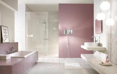 Бордюр для ванной Ceramika Paradyz Lilac (595x23)