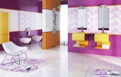 Бордюр для ванной Ceramika Paradyz Red (600x23)