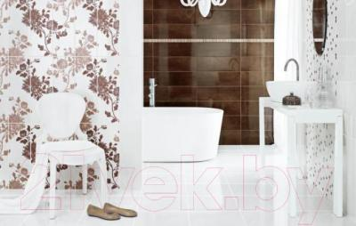 Бордюр Ceramika Paradyz Brown (600x23)