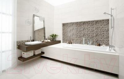 Бордюр для ванной Ceramika Paradyz Wenge (600x23)