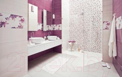 Бордюр для ванной Ceramika Paradyz Wrzos (600x23)