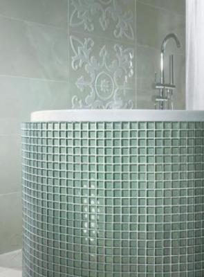 Мозаика для ванной Ceramika Paradyz Brokat Verde (298x298)