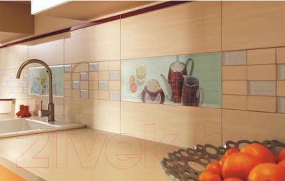 Декоративная плитка Ceramika Paradyz Chiara Bianco A (600x200)