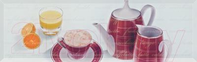 Декоративная плитка Ceramika Paradyz Chiara Bianco B (600x200)