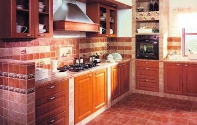 Декоративная плитка для кухни Ceramika Paradyz Gloria Beige Cytryna (100x100)