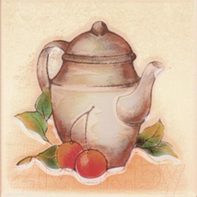 Декоративная плитка Ceramika Paradyz Vanila Beige Dzbanek (100x100)