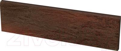 Цоколь клинкерный Ceramika Paradyz Semir Brown (300x81)