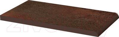 Парапет клинкерный Ceramika Paradyz Semir Brown (245x135)