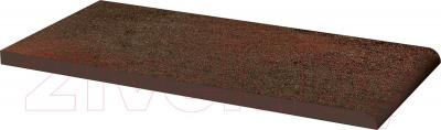 Парапет клинкерный Ceramika Paradyz Semir Brown (300x148)
