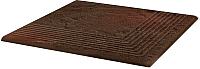 Ступень Ceramika Paradyz Semir Brown Narozna (300x300) -