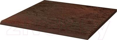 Ступень Ceramika Paradyz Semir Brown Prosta (300x300)
