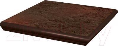 Ступень клинкерная Ceramika Paradyz Semir Brown (330x330)