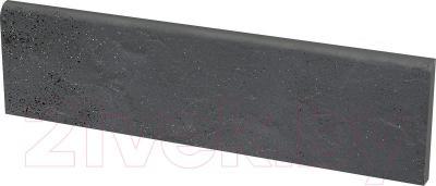 Плинтус лестничный Ceramika Paradyz Semir Grafit (300x81)