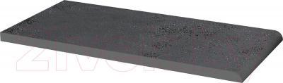 Парапет клинкерный Ceramika Paradyz Semir Grafit (300x148)