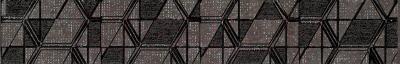 Декоративная  плитка для пола Ceramika Paradyz Lensitile Grafit (450x72)