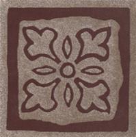 Декоративная  плитка для пола Ceramika Paradyz Tremont Brown B (98x98) -