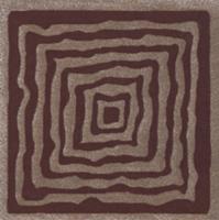 Декоративная  плитка для пола Ceramika Paradyz Tremont Brown C (98x98) -