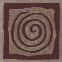 Декоративная  плитка для пола Ceramika Paradyz Tremont Brown D (98x98) -