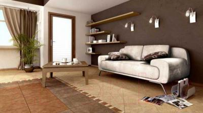 Плитка Ceramika Paradyz Rufus Brown (400x400)