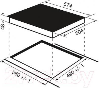 Электрическая варочная панель Indesit VRB 640 X
